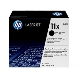 Original HP 11X LaserJet-tonerpatron med høj kapacitet, sort (Q6511X)