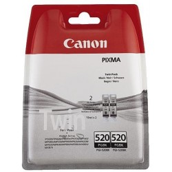 Original Canon PGI 520BK sort twin pack
