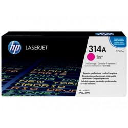 Original HP 314A LaserJet-tonerpatron, magenta (Q7563A)