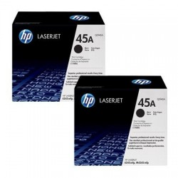Original HP 45A toner sort 2 stk