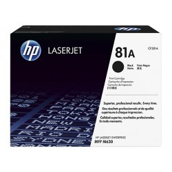 Original HP 81A toner sort (CF281A)