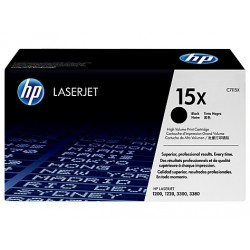 Original HP 15X toner sort (C7115X)