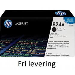 Original HP 824A LaserJet Image-tromle, sort (CB384A)