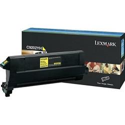 Origianl Lexmark 00C9202YH Gul toner