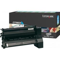 Original Lexmark C7700CH toner Cyan