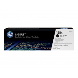 Original HP 128A/2 x laser sort (CE320AD)