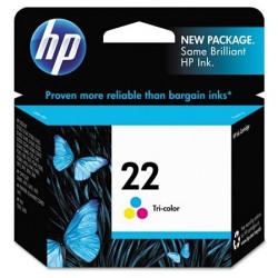 Original HP HP 22 (C9352AN) trefarvet