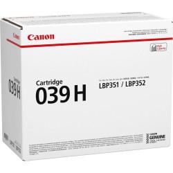 Original Canon 039H Toner Sort 25000 sider (0288C001)