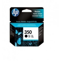 Original HP 350 Blækpatroner Sort 5 ml (CB335EE)