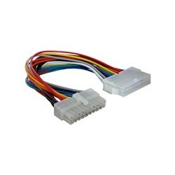 Forlængerkabel til strøm 20-pin ATX (han) 20-pin ATX (hun)