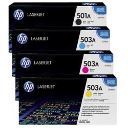 HP 503/501 alle 4 farver
