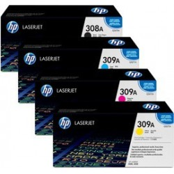 Original HP 308/309 alle4 farver