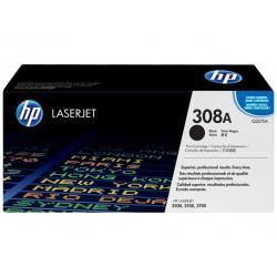 Original HP 308A LaserJet-tonerpatron, sort (Q2670A)