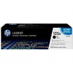 HP 125a Sort 2-pak (CB540AD)