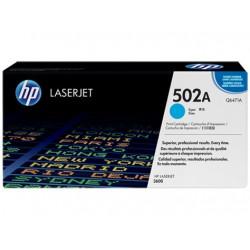 Original HP 502A LaserJet-tonerpatron, cyan (Q6471A)