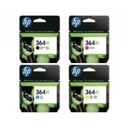 Original HP 364 XL alle fire farver