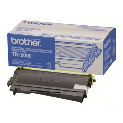 Brother TN2000 Sort Toner